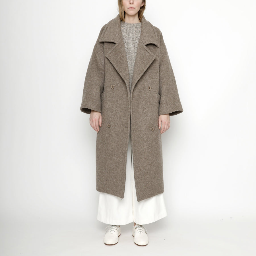 Oversized Long Wool Coat - Winter Edition - FW20