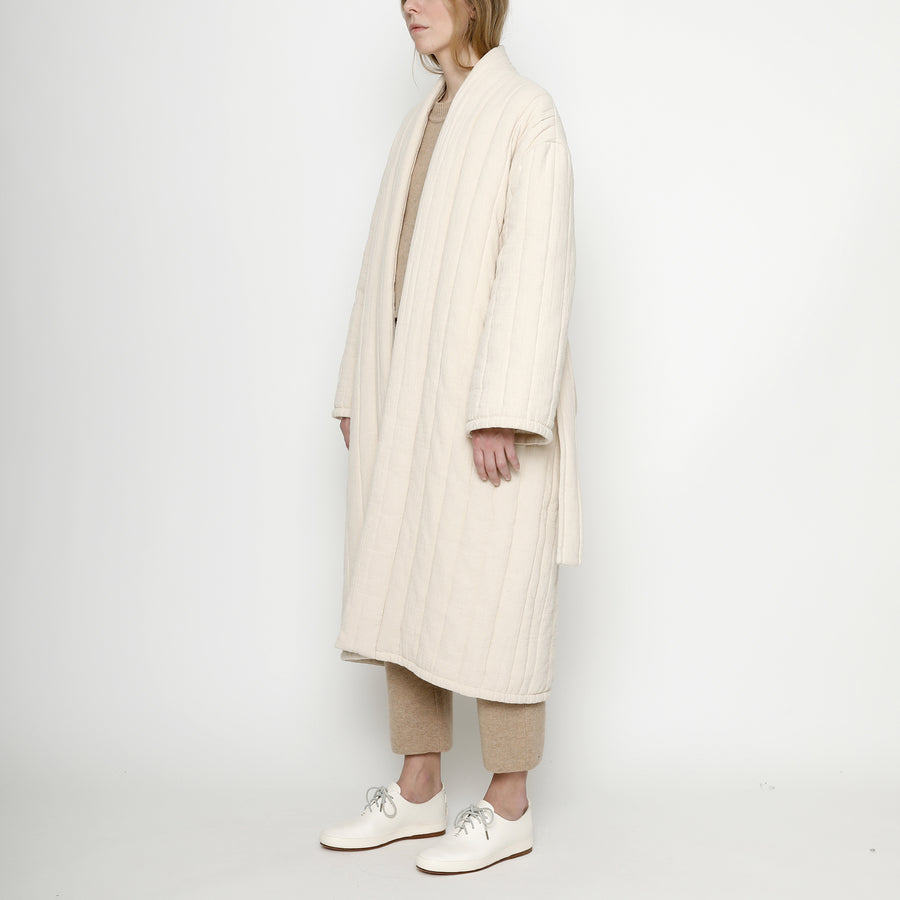 Quilted Long Coat - FW20