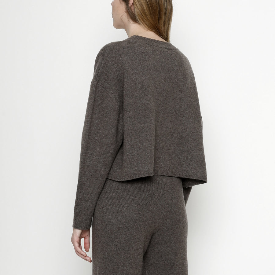 Relaxed Mock-Neck Sweater - FW20 - Umber