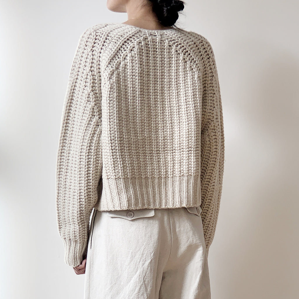 Chunky Cropped Jumper - FW20