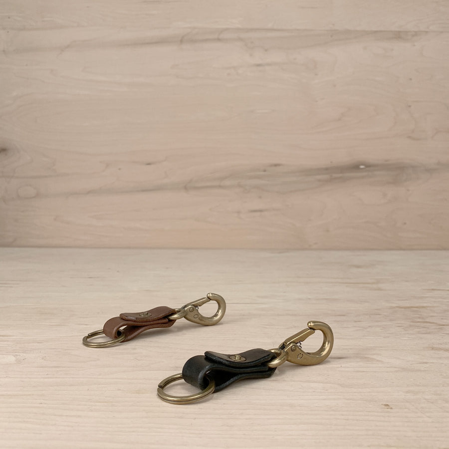 7115 Leather Keychain
