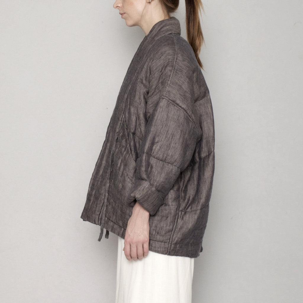 Quilted Linen Jacket