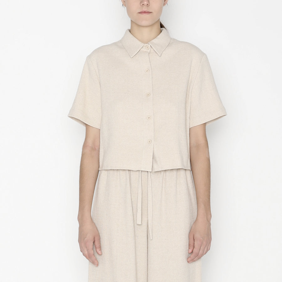 Cropped  Button Down SS20