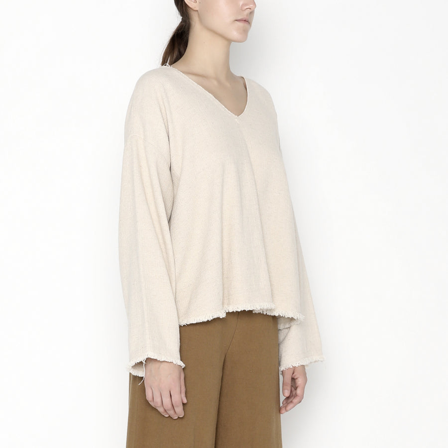 Frayed Edge Pullover SS20
