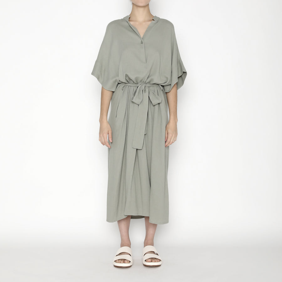 Mandarin V-Neck Dress SS20