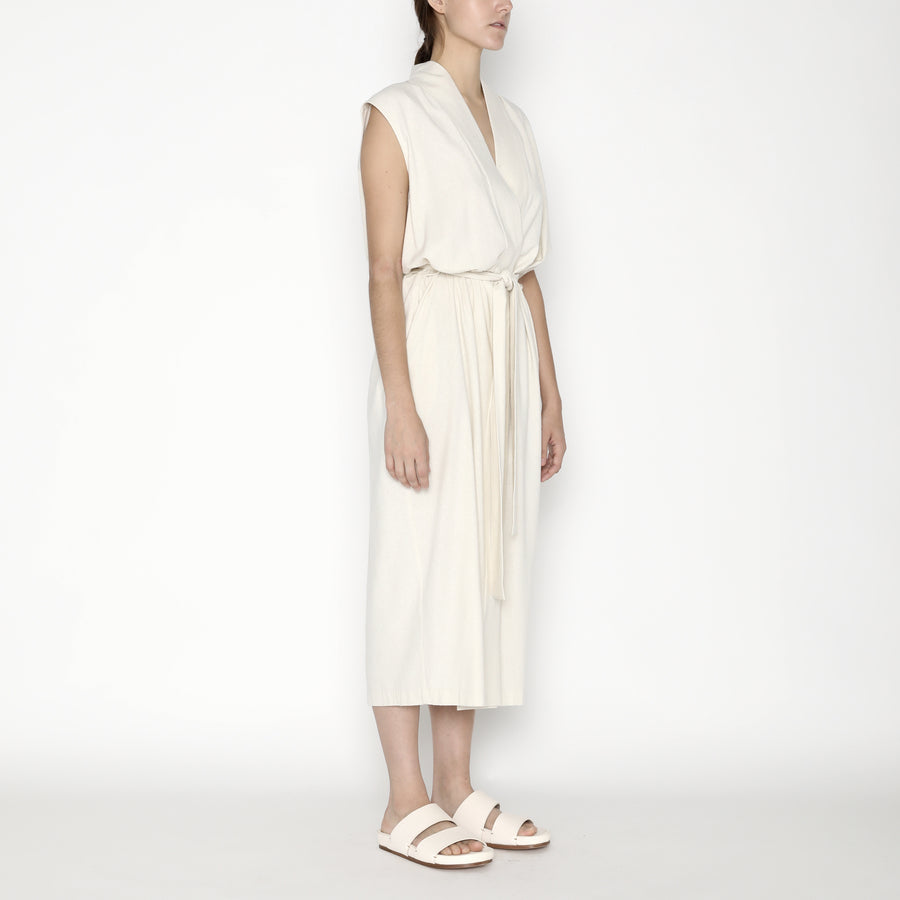 Karate Vest-Dress Silk SS20 - Off-White