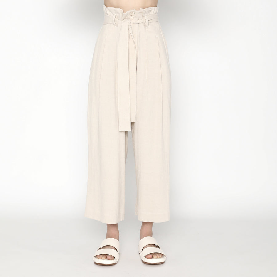 Pleated Trouser SS20 - Sand