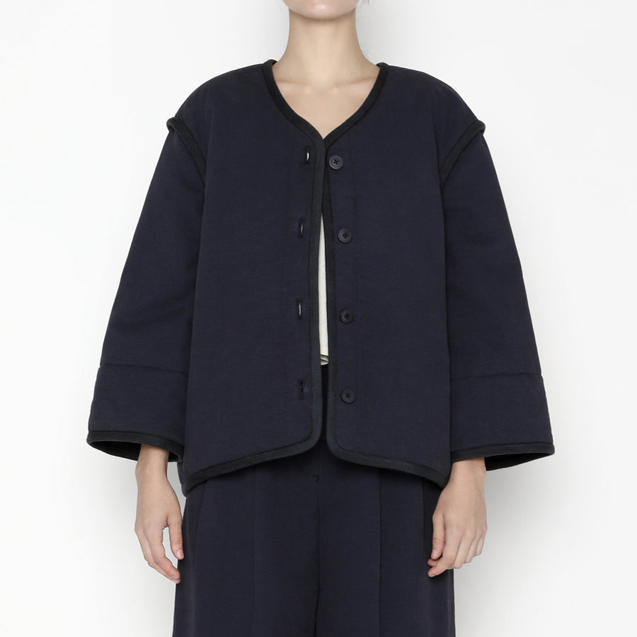 Spring Quilted Jacket SS20 - Navy