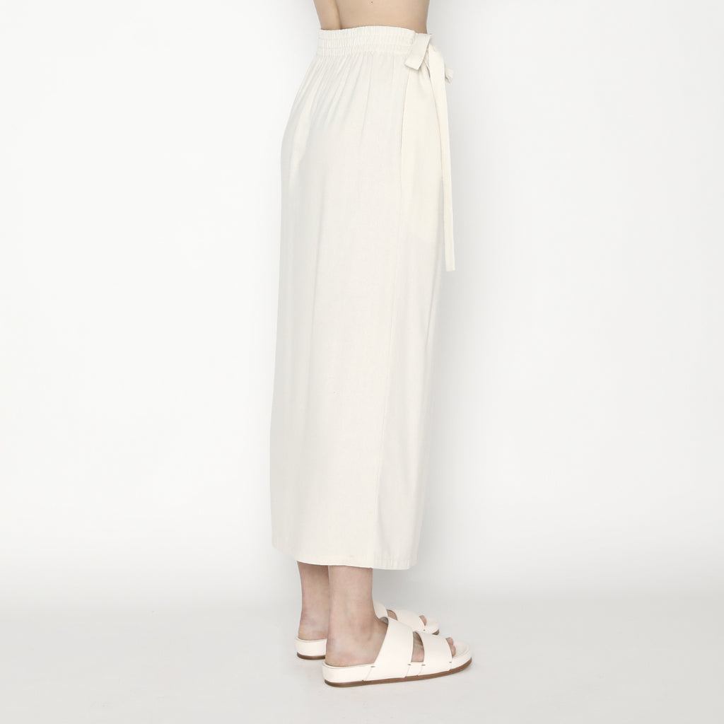 Ainsley Wrap Skirt SS20 - Off-White