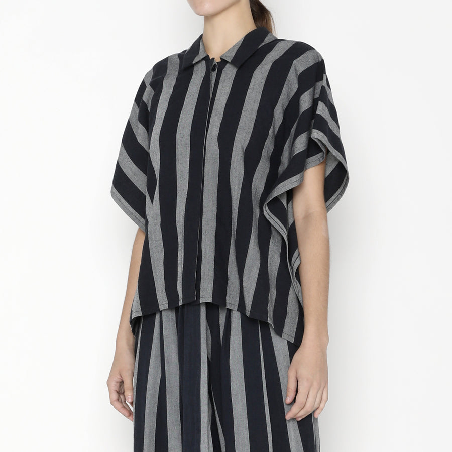 Stripe Swing Shirt SS20 - Dark Stripes