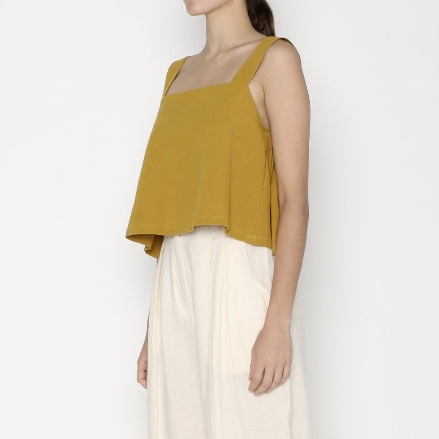 Summer Sun Top SS20 - Mustard
