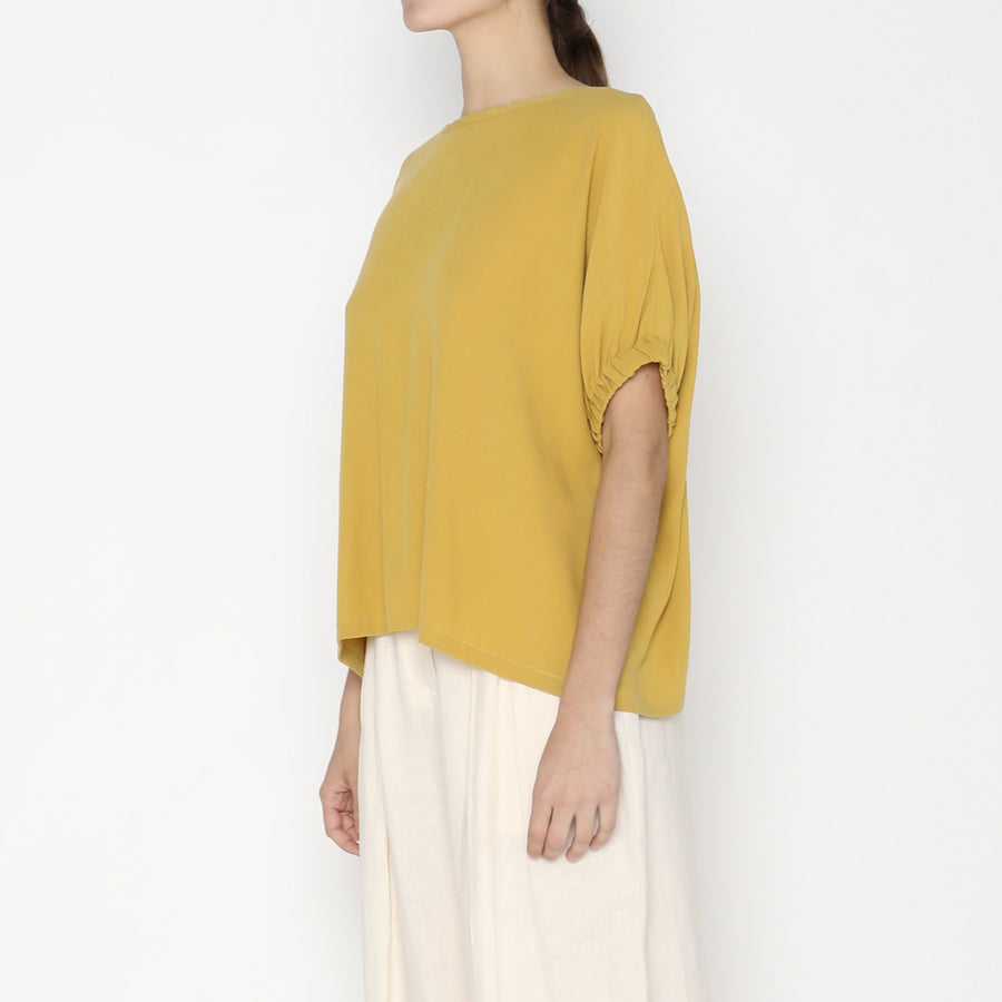 Shirred Cuff Top SS20