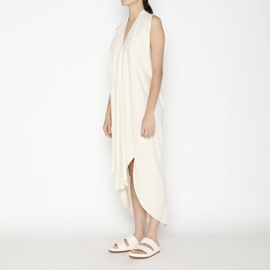 Signature Origami Dress - Off White