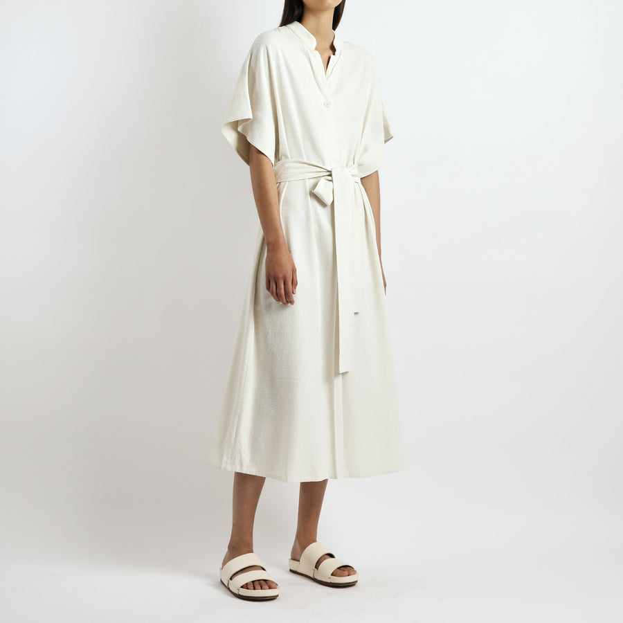 Mandarin Dress - SS21 - Off-White