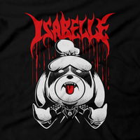 Heavy Metal Tees by Draculabyte l Made from 100% cotton, this unisex t-shirt rocks. Black T-shirt in sizes from small to 6X. Metalheads, SNES, NES, Animal Crossing, Dog, KK Slider, Guitar, Smash Bros, Retro Gamer, Graphic Art, Super Nintendo, Switch, Game Boy, Advance, 3DS, Animal Forest, New Horizons, Tom Nook, Slayer, Doom, Cacodemon