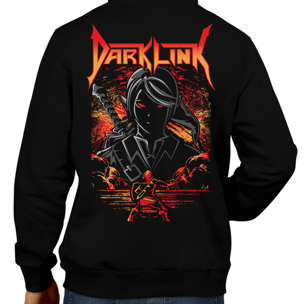 This unisex hoodie rocks. Black Hoodie For Men or Women. Sizes S to 5X - Nintendo, Ocarina of Time, The Legend of Zelda. Video game shirt with Metal, Ocarina of Time, Metalheads, Heavy Metal, Dark Link, OOT, Water Temple, BotwBoss, Dungeon, Graphic Art. N64, Nintendo Shirt, Dark Angel Band, Breath of the Wild.