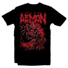 Load image into Gallery viewer, Heavy Metal Tees by Draculabyte l Made from 100% cotton, this unisex t-shirt rocks. Black T-shirt in sizes from small to 6X. Metal, Demon, Hell, Doom, Doomguy, Hellspawn, Art, Clothes, Shirt, Eternal, Nintendo 64, PS4, PC, DOS, 90s, Doom 64, BFG, metallica, John Carmack, Shooter, Rip and Tear, Cacodemon, Cyberdemon, 1993, Slayer, Deicide