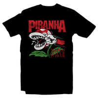 Heavy Metal Tees by Draculabyte l Made from 100% cotton, this unisex t-shirt rocks. Black T-shirt in sizes from small to 6X. Nintendo, Super Mario Bros, Mario, Super Mario, Piranha, Punch, Pantera, Album Art, Smash Bros, NES, SNES, N64, Headbangers, Rock, Retro Gamer, Retro Gaming, Graphic Art, Shirt, Clothing, Cool, Fashion