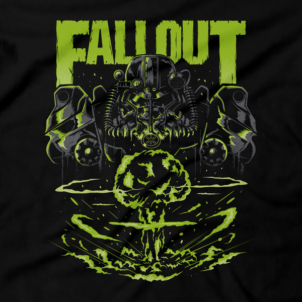 Metalheads, Rpg, Open World, Fallout, Pip Boy, New Vegas, 4, 5, Dog Meat, Nucearl Bomb, Apocalypse, Dogmeat, T 60 power armor, Dog, 76, shirt, gift, Graphic Art