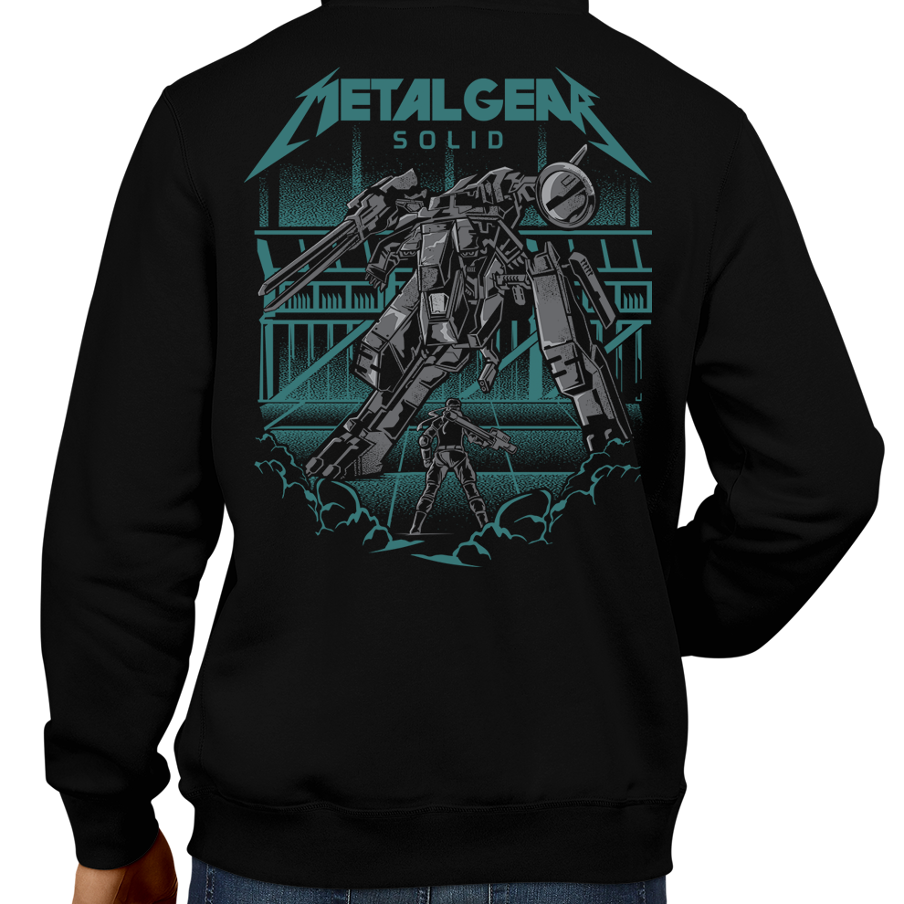 This unisex hoodie rocks. Black Hoodie For Men or Women. Sizes S to 5X - Metalheads, Graphic Art, Video Game, Metal Gear Solid, MGS, Solid Snake, PS1, Playstation, Twin Snakes, Rex, Ninja, Ocelot, Psycho Mantis, Metallica, Battle, VR Missions, Shadow Moses, Big Boss, Liquid, Peace Walker, PS4, PS2, MGS2