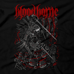 Heavy Metal Tees by Draculabyte l Made from 100% cotton, this unisex t-shirt rocks. Black T-shirt in sizes from small to 6X. Metal, Metalheads, Dark Souls, Praise The Sun, Bloodborne, PS4, Geek, Japanese, Boss, Solaire of Astora, Lady Maria, Old Hunter, Astral Clock Tower, Gothic, Victorian, Yharnam, Graphic Art, Behemoth Band