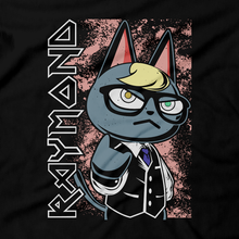 Load image into Gallery viewer, Heavy Metal Tees by Draculabyte l Made from 100% cotton, this unisex t-shirt rocks. Black T-shirt in sizes from small to 6X. Metalheads, Cross, Cat, Dog, KK Slider, Guitar, Retro Gamer, Graphic Art, Nintendo Switch, 3DS, Animal Forest, New Horizons, Tom Nook, Iron Maiden, Isabelle, Raymond, Animal Crossing, Bells, Town, Villagers, Resetti