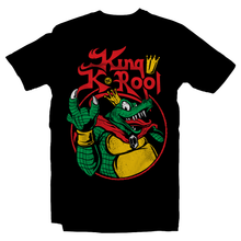 Load image into Gallery viewer, Metalheads, Graphic Art, Boss, Rock and Roll, King K. Rool, Crocodile, Donkey Kong Country, Donkey Kong 64, Diddy Kong, SNES, Super Nintendo, Rare, Rareware, Nintendo, N64, Game Boy, King Diamon, Mash Up, Parody, Super Smash Bros