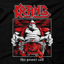 Load image into Gallery viewer, Heavy Metal Tees by Draculabyte l Made from 100% cotton, this unisex t-shirt rocks. Black T-shirt in sizes from small to 6X. Metal, Metalheads, Nintendo, NES, Gamer, Mash Up, TMNT, Michelangelo, Mikey, Leonardo, Donatello, Movie, Brain, Rock and Roll, Metal Head, Comic Books, Cartoons, Shredder, Villain, Krang, Michelangelo, Bebop and Rocksteady, Turtle, Teenage, Mutant Ninja Turtles, Game Graphic Art