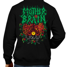 Load image into Gallery viewer, This unisex hoodie rocks. Black Hoodie For Men or Women. Sizes S to 5X - Nintendo, Ocarina of Time, Metalheads, Music, Banger, Retrogaming, Gamer, Hoody, Winter, Majoras Mask, Horse, Skull, Hyrule, Triforce, Ghost Band, OOT, N64, The Legend of Zelda, TLOZ, Link, Boss, BOTW, Video Game, Shop, Graphic Art.
