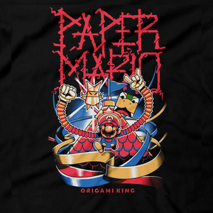 Metalheads, Paper Mario Origami King, Super Mario, Castle, Nintendo Switch, Paper Mario: The Origami King, King Olly, Olivia, Bowser, King Kooper, Paper Fold, Clothes, Princess Peach, Turtles, Gaming