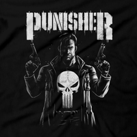 Heavy Metal Tees by Draculabyte l Made from 100% cotton, this unisex t-shirt rocks. Black T-shirt in sizes from small to 6X. Respect, Shirt, Vigilante, Punish, Skull, Punisher, Superhero, Comic Book, Movie, Frank Castle, Marvel, Netflix, Punisher, New York, Justice, Guns, Jim Lee, War Journal, Spider-Man, War Zone, Badass Pantera, Walk