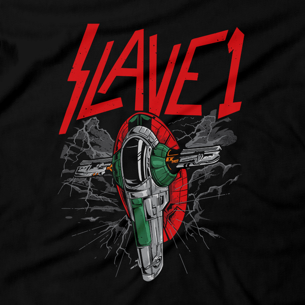 Heavy Metal Tees by Draculabyte l Made from 100% cotton, this unisex t-shirt rocks. Black T-shirt in sizes from small to 6X. Metalheads, Graphic Art, Rock, Movie, Film, Sci-Fi, Baby Yoda, Mandalorian, Boba Fett, ROTJ, ANH, Darth Vader, Han Solo, Princess Leia, Dark Side, Death Metal, Slave 1, Bounty Hunter, Ship, Carbonite, Grogu, Sarlacc Pit, Slayer, Jango