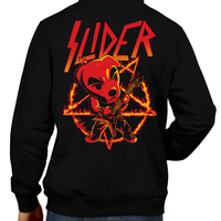 This unisex hoodie rocks. Black Hoodie For Men or Women. Sizes S to 5X - Metalheads, SNES, NES, Animal Crossing, Dog, KK Slider, Guitar, Smash Bros, Retro Gamer, Graphic Art, Super Nintendo, Switch, Game Boy, Advance, 3DS, Animal Forest, Mario Kart, New Horizons, Tom Nook, Slayer