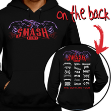 Load image into Gallery viewer, This unisex hoodie rocks. Black Hoodie For Men or Women. Sizes S to 5X - The Legend of Zelda, Nintendo, Metalheads, Ganon, Ganondorf, Megaman, Splatoon, Mario Bros, Pika, Pokemon, Metroid, Ness, Samus Aran, Smash Bros Ultimate, Tour, ACDC, Metallica, Slipknot, Slayer, Ghost Band, Solid Snake, Graphic Art, Solid Snake, Metal Gear