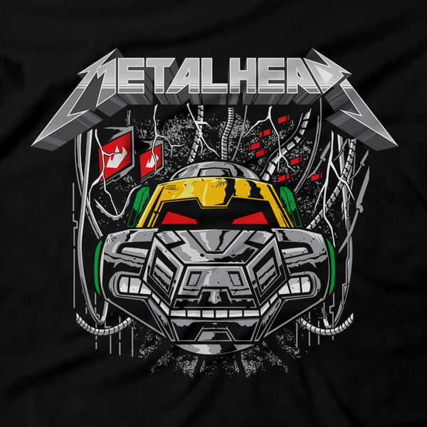 Heavy Metal Tees by Draculabyte l Made from 100% cotton, this unisex t-shirt rocks. Black T-shirt in sizes from small to 6X. TMNT, Metalheads, Mikey, Leonardo, Donatello, Rock and Roll, Comic Book, Cartoon, Shredder, Villain, Krang, Michelangelo, Bebop,  Teenage Mutant Ninja Turtles, Retro Gamer, Baxter Stockman, Nintendo, Art, NES
