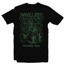 Load image into Gallery viewer, Heavy Metal Tees by Draculabyte l Made from 100% cotton, this unisex t-shirt rocks. Black T-shirt in sizes from small to 6X. Skull Kid, Majora's Mask, Zelda, Nintendo design.