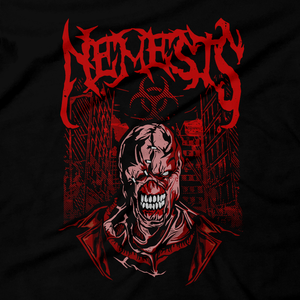 Heavy Metal Tees by Draculabyte l Made from 100% cotton, this unisex t-shirt rocks. Black T-shirt in sizes from small to 6X. Metal, Metalheads, RE, Biohazard, Umbrella, Racoon City, Leon Kennedy, Jill Valentine, Zombie, Resident Evil 4, 7, 3, 2, Japan, Chris Redfield, Rebecca, Claire, Survival Horror, T-Virus, RPD, Metal, Rock, Death, Game Over, Nemesis, Game Graphic Art