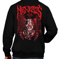 This unisex hoodie rocks. Black Hoodie For Men or Women. Sizes S to 5X - Gamer, Hoody, Winter, Nintendo, Metalheads, RE, Biohazard, Umbrella, Racoon City, Leon Kennedy, Jill Valentine, Zombie, Resident Evil 4, 7, 3, 2, Chris Redfield, Claire, Survival Horror, T-Virus, Nemesis, Graphic Art