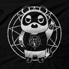 Load image into Gallery viewer, Heavy Metal Tees by Draculabyte l Made from 100% cotton, this unisex t-shirt rocks. Black T-shirt in sizes from small to 6X. Metalheads, SNES, NES, Animal Crossing, Dog, KK Slider, Guitar, Smash Bros, Retro Gamer, Graphic Art, Super Nintendo, Switch, Game Boy, Advance, 3DS, Animal Forest, Mario Kart, New Horizons, Tom Nook, Slipknot