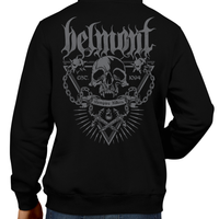This unisex hoodie rocks. Black Hoodie For Men or Women. Sizes S to 5X - Metal, Metalheads, Gamer, Nes, Nintendo, Pixel, 8-Bit, 1980s, Castlevania, Simon Belmont, Vampire Killer, Dracula's Curse, SOTN, Alucard, Skull, Symphony of the Night, Slayer, Vampire Hunter, Graphic Art