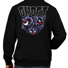 Load image into Gallery viewer, This unisex hoodie rocks. Black Hoodie For Men or Women. Sizes S to 5X - Metalheads, Graphic Art, Boss, Rock and Roll, Nintendo Switch, Gameboy, DS, Advance, Pokemon, Red, Blue, Green, Yellow, Haunter, Gengar, Gastly, Ghost Type, Water, Shirt, Danzig, Sword and Shield, Sun, Moon, Pikachu, Ash