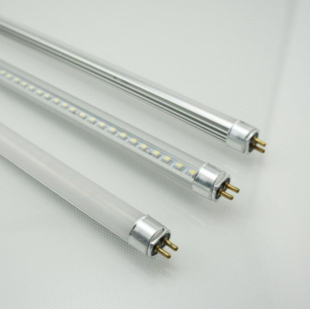 FREE SHIPPING 10Pcs Pack  1FT/2FT/3FT/4FT  12V AC/DC T5 LED Tube Light Miniature Bi-Pin Base T5 Replacement