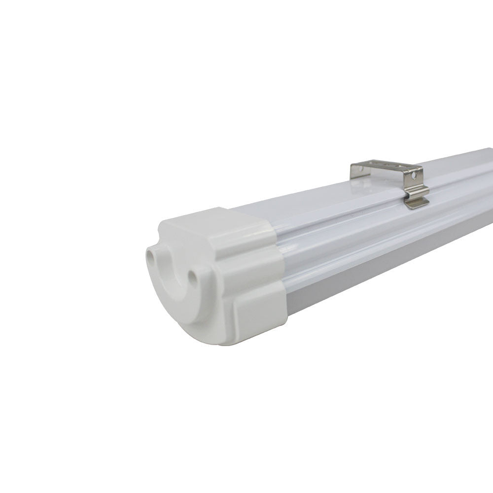LightingWill  Weatherproof IP65 Non-dimmable LED Linear Batten 2 / 3 / 4 /5 Feet (600mm) 18W in Aluminum + PC Housing- Model A