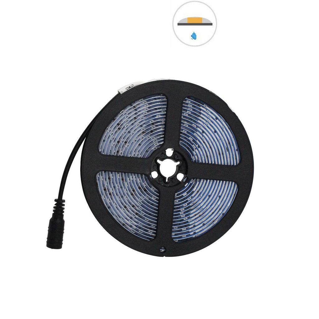 5 Meter (16.4 Feet) UV Ultraviolet 365~395nm SMD2835-300 12VDC 60Watt 60LED/Meter  Flexible LED Strip Lights