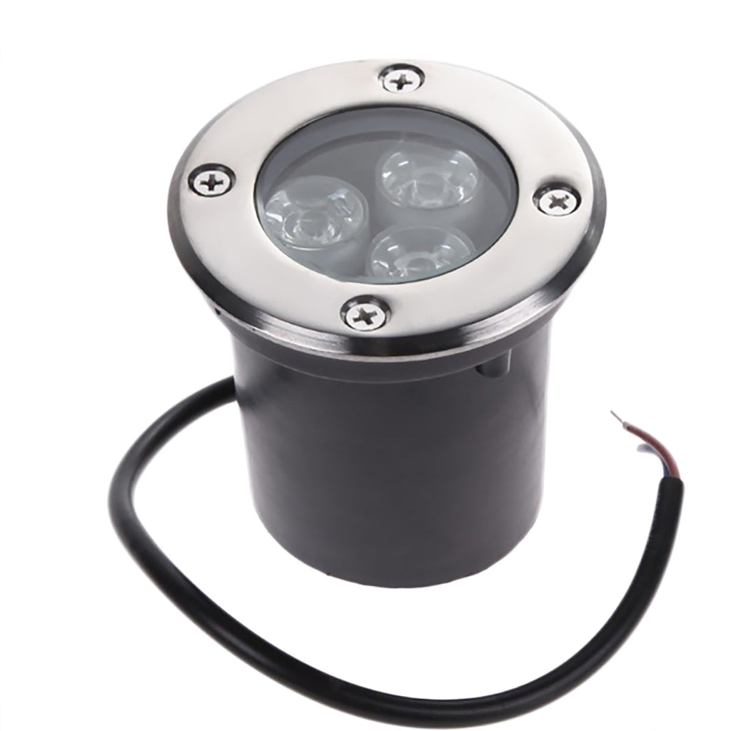 IP67 Waterproof  Underground Fixture Landscape Uplighting Well LED Garden Lights