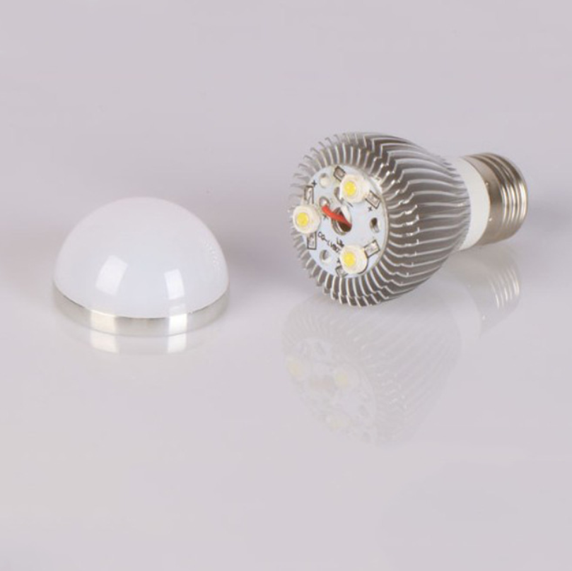 Promotion! Free Shipping 20 Pack LED Bulb Light 3 Watt 280 Lumen Warm White Color CRI80 E27 Screw Base 100-240V AC Non-dimmable White Light 160° BeamLED Globe
