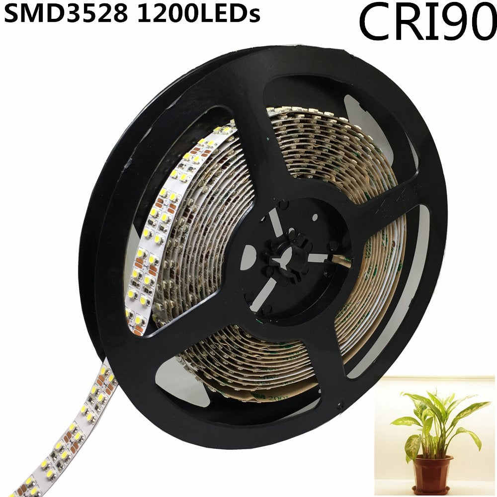 LED Strip Light CRI90 SMD3528 1200LEDs DC 12V 5Meters per Roll