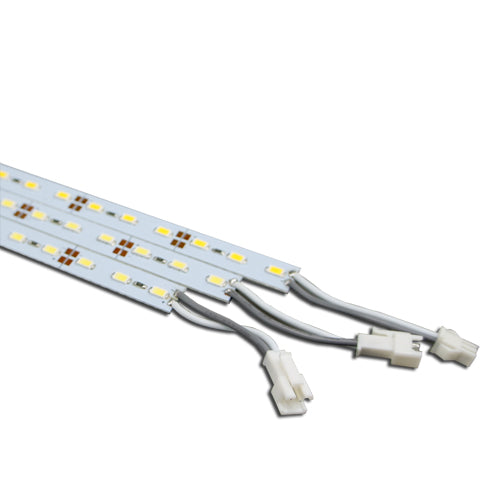 5-Pack 1.64ft/50cm DC 12V 6.5Watt 500LM-600LM 5630SMD Rigid Hard LED Strip Light 36LEDs Non-waterproof LED Rigid Light Bar