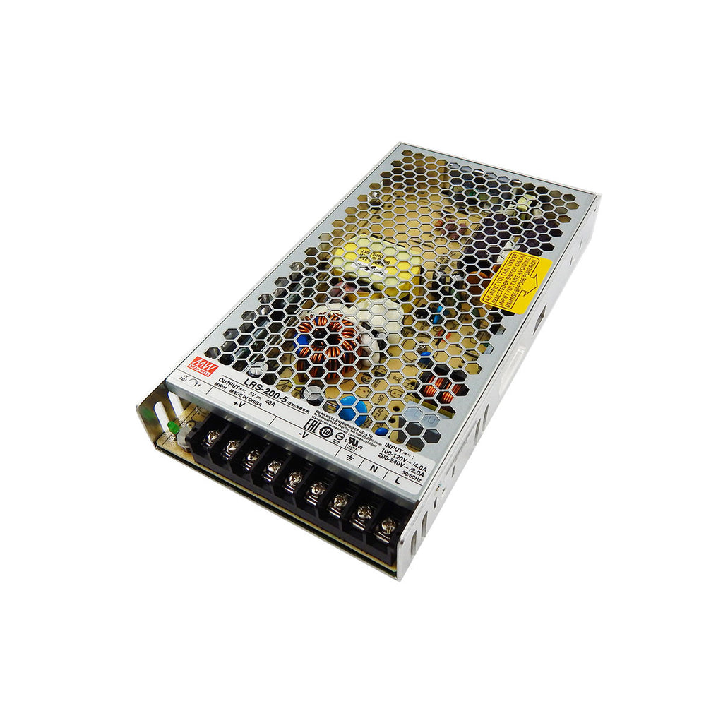 LightingWill MeanWell UL Listed AC/DC (5V/12V/24V) Enclosed Single Output Switching Power Supply