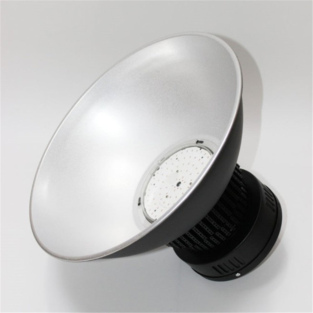 LightingWill  100W/150W/200W  High Power Fin Heat Sink LED IP65 Waterproof LED High Bay Light with Aluminum Reflector